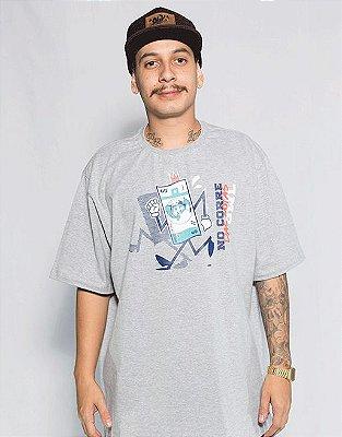 Camiseta Corre das Notas - Cinza Mescla