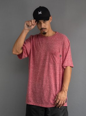 Camiseta com bolso Botonê - Rosê