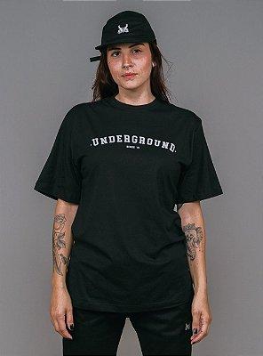 Camiseta Underground - Preto
