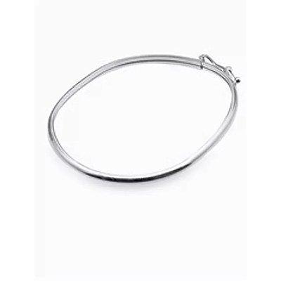 Bracelete de Prata Oval - 00534