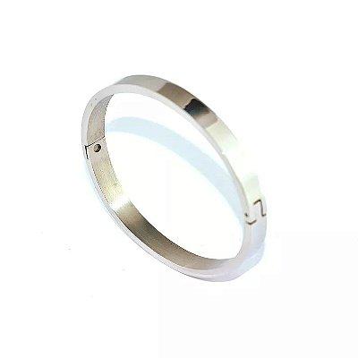 Bracelete de Aço Largo - 01536