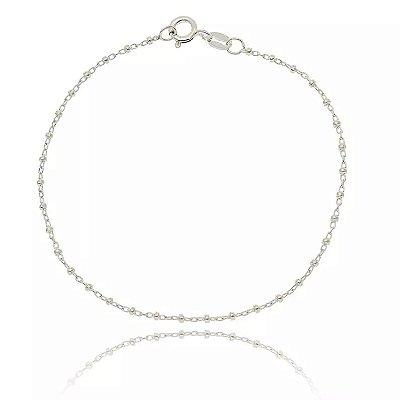 Pulseira de Prata Bolinhas Pequenas - 05091