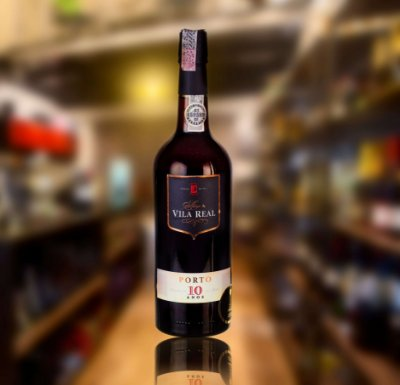 Vinho do Porto Vila Real 10 Anos 750mL