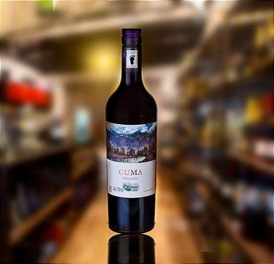 Vinho Tinto Malbec  Cuma 100% Orgânico 2018 750ML