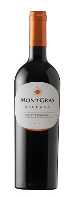 Vinho Tinto Cabernet Sauvignon Reserva Montgras  2017 - 750mL
