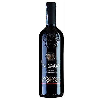 Vinho Tinto Negroamaro Primitivo Puglia IGT 750 mL