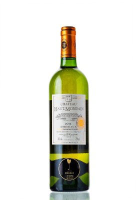 Vinho Chateau Haut Mondain Blanc 2014 750mL