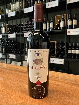 Vinho Tinto Nero D'Avola DOC Tenute Di Stefano Sicilia 2018 - 750mL