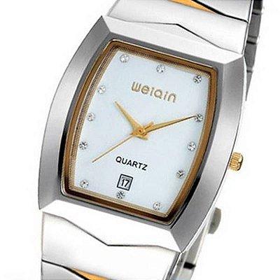 Relógio Feminino Weiqin Analógico Casual W0045BG Branco
