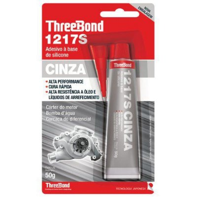 THREE BOND 1217S - SILICONE ALTA TEMPERATURA CINZA NEUTRO