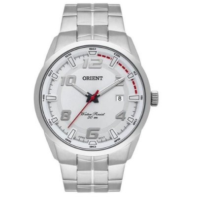 Relógio Orient Masculino MBSS1382 S2SX Prata