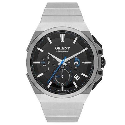 Relógio Orient Masculino Cronógrafo Prata MBSSC221 P1SX