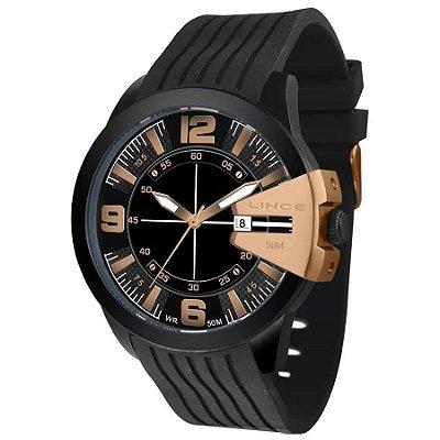 Relógio Lince Masculino  MRP4457l P2PX Esportivo Black