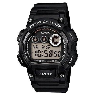 Relógio Casio Masculino Digital Preto W-735H-1AVDF