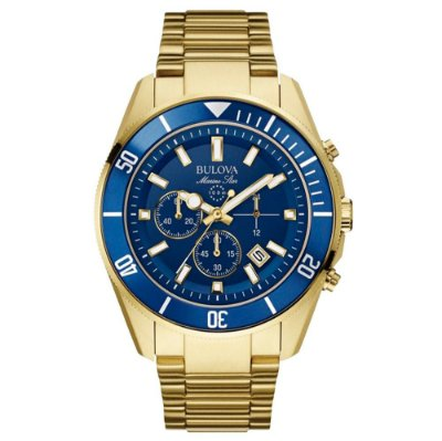 Relógio Bulova Masculino Cronógrafo WB31774Z Analógico