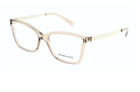 f059287c2fa9a Armação Óculos Michael Kors MK 3018 1194 Rose Gold-Tone - Perolashop