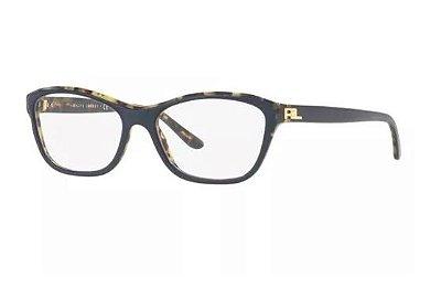 Armação Oculos Grau Ralph Lauren Rl6160 5633 53 Azul