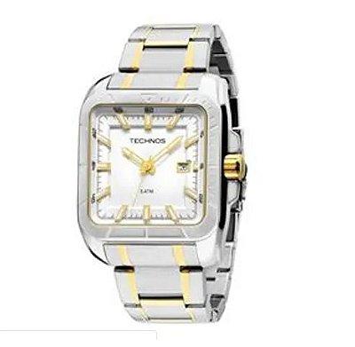 Relógio Technos 2315YR/5K Bicolor Prata