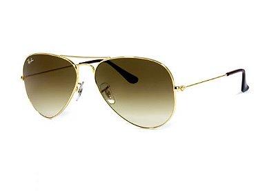 Óculos De Sol Aviador Ray Ban Rb3025 001/3k Tam.58