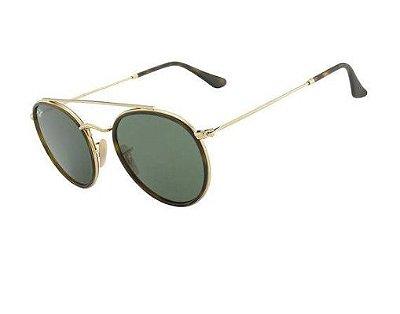 Óculos de Sol Ray Ban Round Double RB3647-N001-51