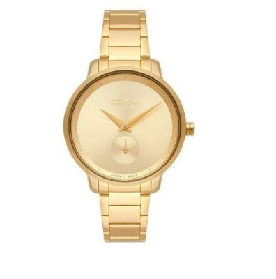 Relógio Orient Feminino Dourado DGSS0121 C1KX
