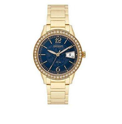 Relógio Orient Analógico Feminino Swarovski Fgss1139 D2kx