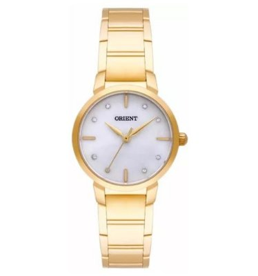 Relógio Orient Feminino  Dourado Fgss0071 B1kx