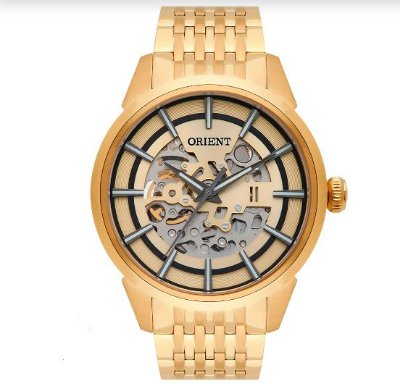 Relógio Orient Masculino Automático Nh7gp001 C1kx Esqueleto