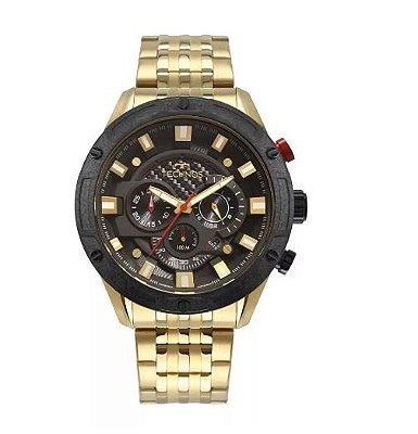 Relógio Technos Dourado Masculino JS25CE/4P