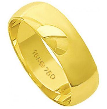 Aliança Ouro 18k 65