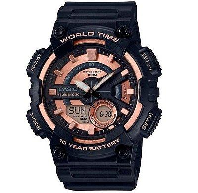 Relógio Casio Masculino Standard AEQ-110W-1A3VDF
