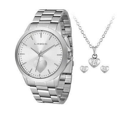 kit Relógio Lince feminino lrmj097l kw20