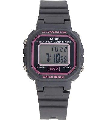 Relógio Casio Digital Cinza Feminino LA-20WH-8ADF
