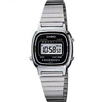 Relógio Feminino Casio Vintage Digital  LA670WA-1DF