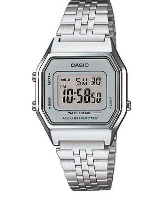 Relógio Feminino Casio Vintage Digital Fashion LA680WA-7DF