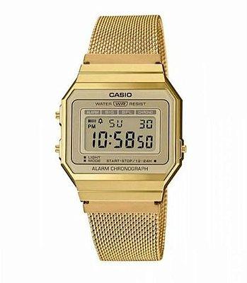 Relógio Casio A 700WMG-9ADF Digital Dourado Retro