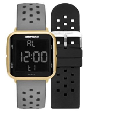 Relógio Mormaii Digital Unissex Cinza - MO6600AI/T8A