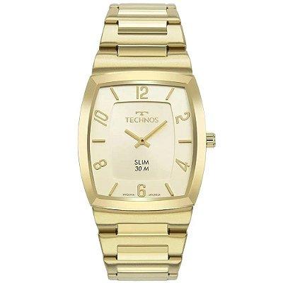Relógio Technos Masculino Classic Slim Dourado 1L22Wl/1D