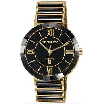 Relógio Feminino Technos Ceramic 2015BV/4P - Dourado/Preto