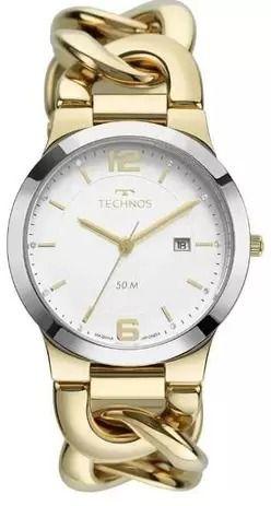 Relógio Technos Feminino Elegance Bicolor 2115MWF/1K