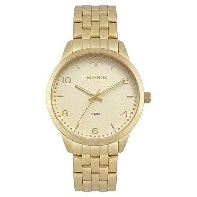 Relógio Technos Feminino Ref: 2035mpj/4x Elegance Dourado