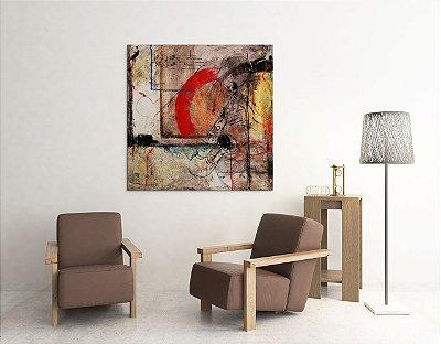 Quadro Decorativo Tela American Soul 100 x 100 cm