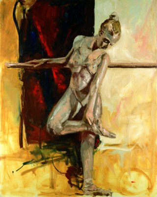 Gravura Fine Art Ballerina 50 x 40 cm