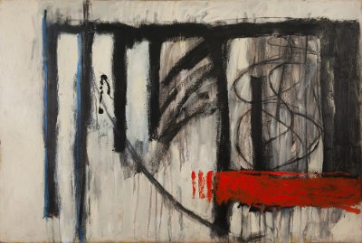 Arte Contemporânea Tela Arrebatamento 50 x 80 cm