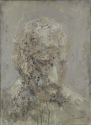 Arte Contemporânea Tela Maturidade 80 x 60 cm