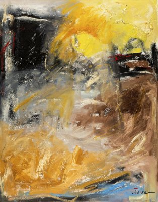 Obra Original Pintura sobre Tela, Minh'Alma, Óleo, 140 x 110 cm