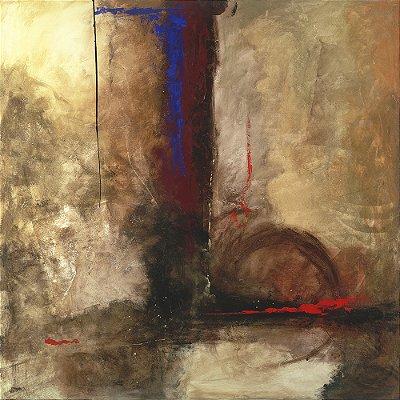 Obra de Arte Tela La Furia 135 x 135 cm