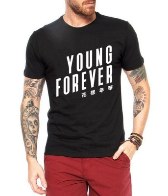 Camiseta BTS Bangtan Boys Kpop Young Forever