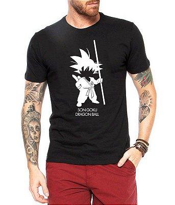 Camiseta Goku Dragonball Desenho Masculina