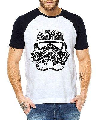 Camiseta Stormtrooper Star Wars Raglan Masculina